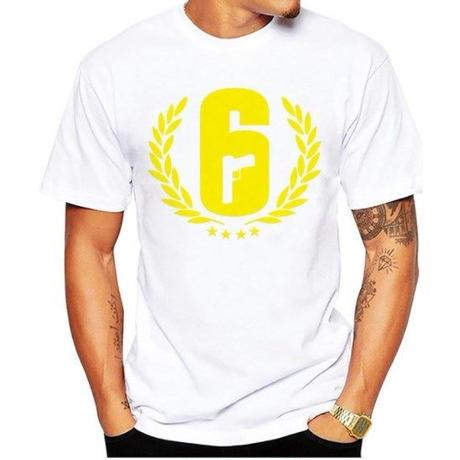 レインボーシックス シージ  ロゴデザイン  Tシャツ  半袖   Tom Clancy's Rainbow Six Siege R6S シージグッズ