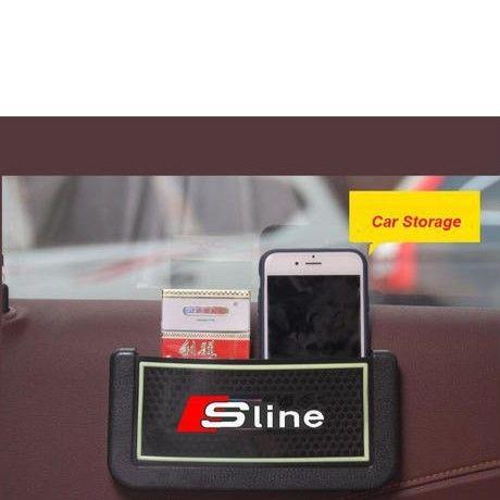 アウディ 小物入 ポケット Audi RS Sline カーインテリア A3 A4 A5 A6 A7 A8 Q3 Q5 Q7 h00325