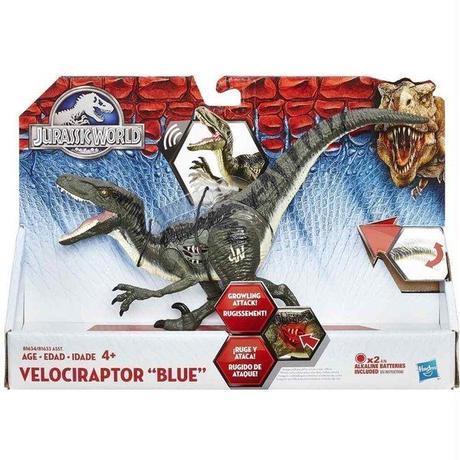 ジュラシック ワールド Jurassic World ハズブロ Hasbro Toys フィギュア おもちゃ Growler Velociraptor Blue Action Figure