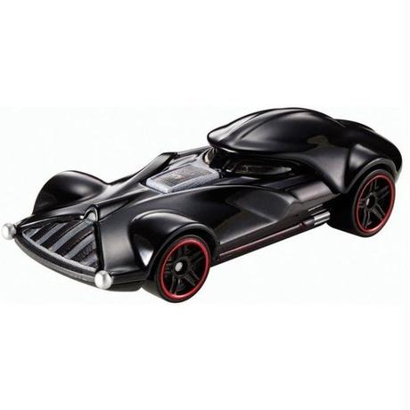 ホットウィール マテル MATTEL Star Wars Hot Wheels 1:64 Scale Character Car Series 04 - Darth Vader