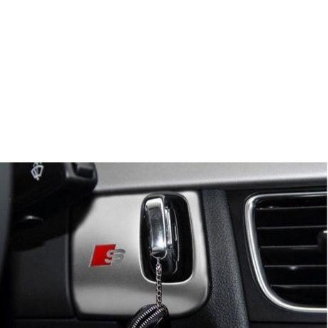 アウディ キーホールカバー Audi A4 A5 ステンレス 装飾 h00319