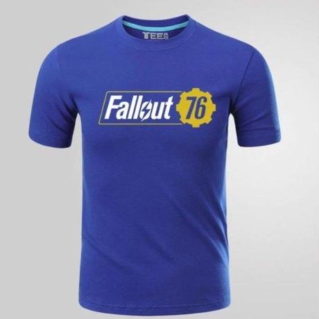 Fallout 76 フォールアウト  ゲーム ロゴ Tシャツ  FO 76 グッズ 2