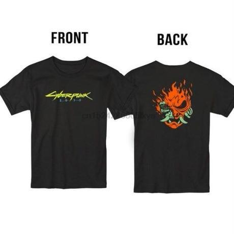サイバーパンク 2077  ゲーム 両面デザイン  Tシャツ  Cyberpunk 2077