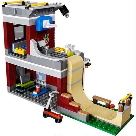レゴ LEGO おもちゃ Creator Modular Skate House Set #31081 [3 In 1]