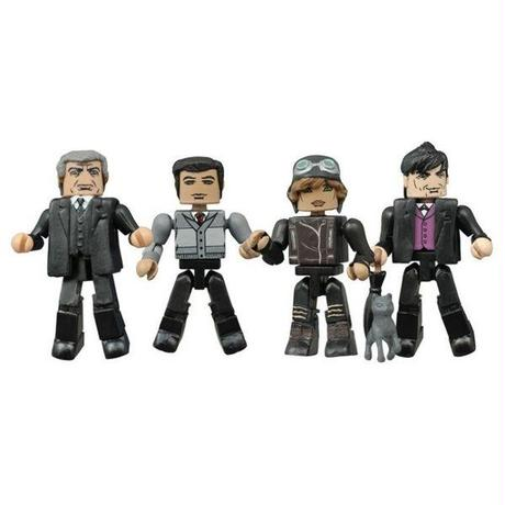 ディーシー ダイアモンド セレクト DIAMOND SELECT TOYS Gotham Minimates Series 2 Four Pack