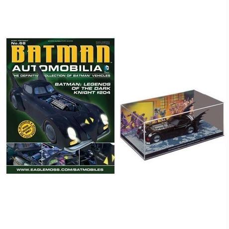 ディーシー Batman Automobilia Collection - No.68 Batmobile (Legends of the Dark Knight #204)