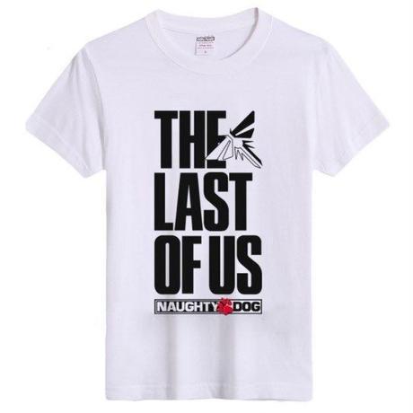 ラスト オブ アス  The Last of Us ゲーム ロゴデザインTシャツ  6