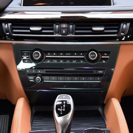 BMW 保護シート フィルム インテリア コントロールギアパネルキット X6 f16 2014-17 アクセサリ h00071