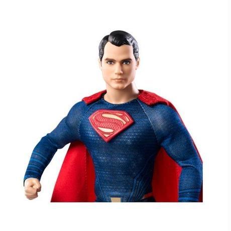 ディーシー マテル MATTEL Batman v Superman Barbie Doll - Superman