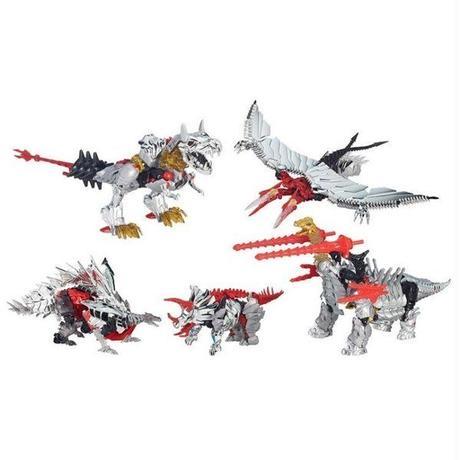 トランスフォーマー ハズブロ HASBRO Transformers: The Age of Extinction Platinum Edition Dinobots G1 Repaint