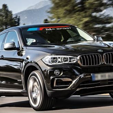 BMW ステッカー デカール Mスポーツ フロント リア 窓ガラス シールド e46 e39 e90 e60 f30 f31 m5 g3o z4 e85 x5 h00094
