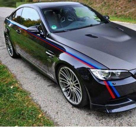 BMW ステッカー ボディ Mパフォーマンス E36 E39 E46 E53 E60 E61 E64 E70 E71 E85 E87 E90 E83 F10 20 21 30 30 35 h00198
