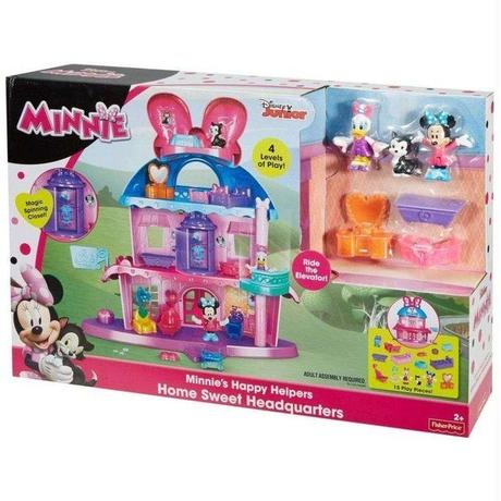 ディズニー Disney フィッシャープライス Fisher Price  Minnie Mouse Minnie's Happy Helpers Home Sweet Headquarters