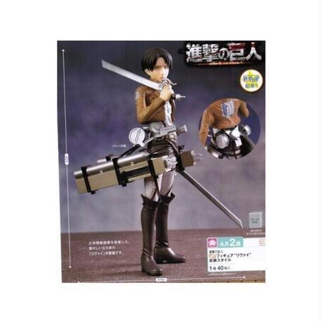 進撃の巨人 セガ SEGA Attack on Titan Levi (4.0) Premium Figure