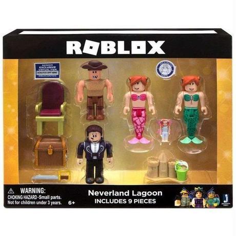ロブロックス Roblox ジャズウェアーズ Jazwares フィギュア おもちゃ Neverland Lagoon Exclusive Action Figure
