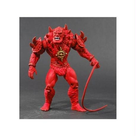 マスターズ 超空の覇者 マテル MATTEL Masters of the Universe Classics Red Minicomic Beast Man Power-Con Exclusive