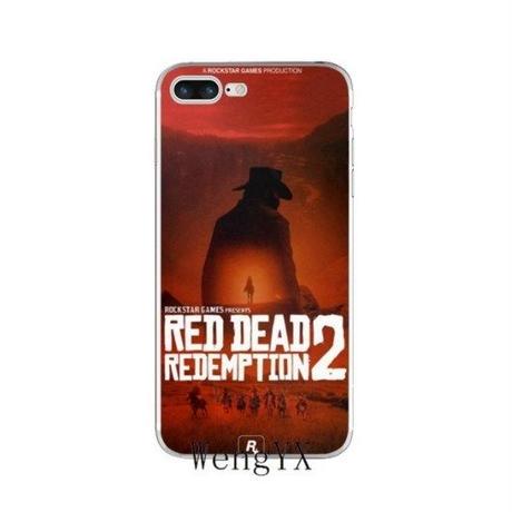 レッド・デッド・リデンプション2  シリコン Iphone ケース アイフォンケース  Red Dead Redemption 2   RDR2   9