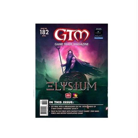 ゲーム トレード マガジン アライアンスゲーム ALLIANCE GAME DISTRIBUTORS Game Trade Magazine Issue # 182 - Elysium