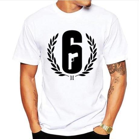 レインボーシックス シージ  ロゴデザイン  Tシャツ  半袖   Tom Clancy's Rainbow Six Siege R6S シージグッズ 11