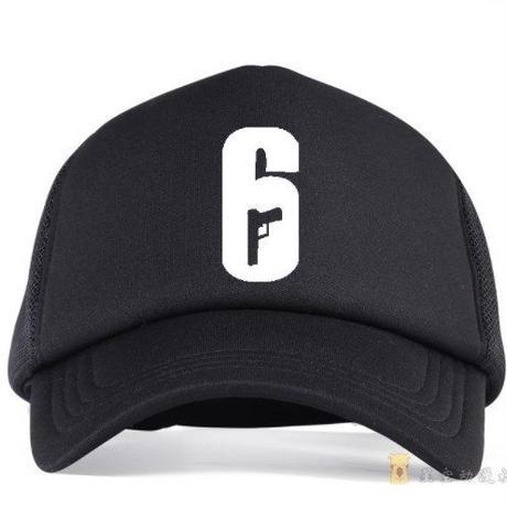 レインボーシックス シージ   ロゴコスプレ メッシュ キャップ 帽子 Tom Clancy's Rainbow Six Siege    R6S  シージグッズ