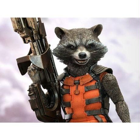マーベル ホットトイズ HOT TOYS Guardians of the Galaxy MMS252 Rocket 1/6th Scale Collectible Figure