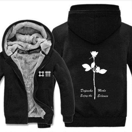 高品質デペッシュ·モード Depeche Mode フリースパーカー  スウェット 衣装 コスチューム 小道具 海外限定 6