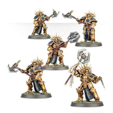 Warhammer ゲームズワークショップ Age of Sigmar Grand Alliance Order Stormcast Eternals Paladin Decimators