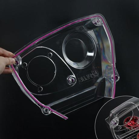 日産 タイミングベルトカバー 透明 カム プーリー NISSAN Skyline R32 R33 GTS RB25DET 送料込 h01442