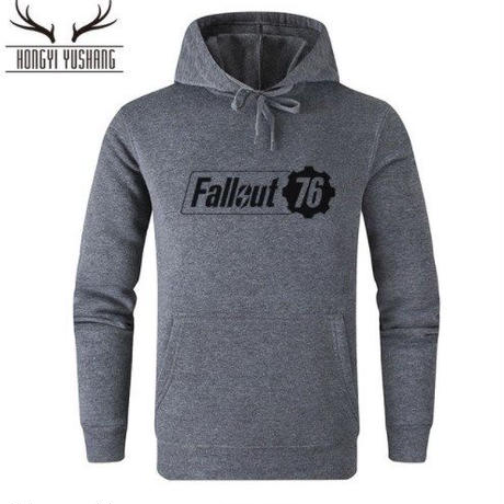 Fallout 76 フォールアウト  ゲーム ロゴ パーカー  FO 76 グッズ  5