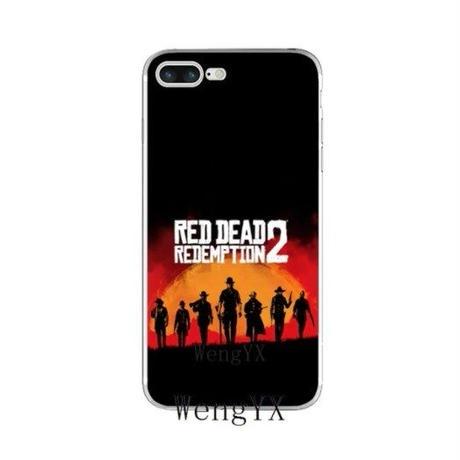 レッド・デッド・リデンプション2  シリコン Iphone ケース アイフォンケース  Red Dead Redemption 2   RDR2   2