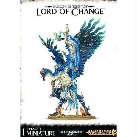 ウォーハンマー ゲームズワークショップ おもちゃ Age of Sigmar Grand Alliance Chaos Disciples of Tzeentch Lord of Change