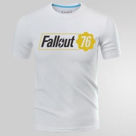 Fallout 76 フォールアウト  ゲーム ロゴ Tシャツ  FO 76 グッズ 4