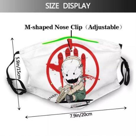 デッドバイデイライト フェイス マスク 防塵  非使い捨て フィルター式  dbd  7