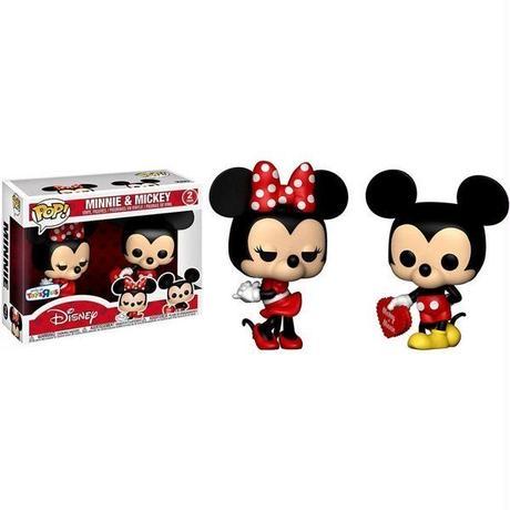 ミッキーマウス Mickey Mouse ファンコ Funko フィギュア おもちゃ POP! Disney Minnie & Mickey Exclusive  [Valentine]