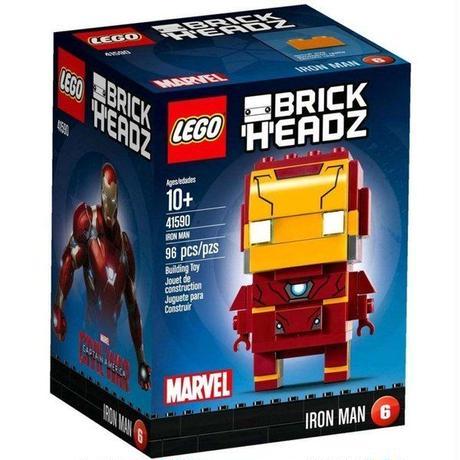アイアンマン Iron Man レゴ LEGO おもちゃ Marvel Captain America Civil War Brick Headz Set #41590