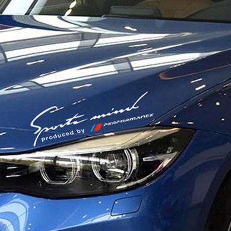 BMW ステッカー デカール パフォーマンス ヘッドライト e46 e39 e90 e60 f30 f10 x5 e36 e53 e34 h00064