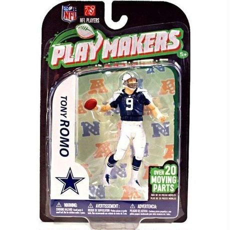マクファーレントイズ McFarlane Toys フィギュア おもちゃ NFL Dallas Cowboys Playmakers Series 3 Tony Romo Action Figure
