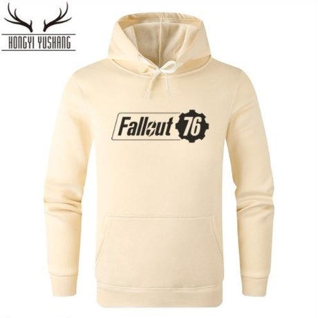 Fallout 76 フォールアウト  ゲーム ロゴ パーカー  FO 76 グッズ  3