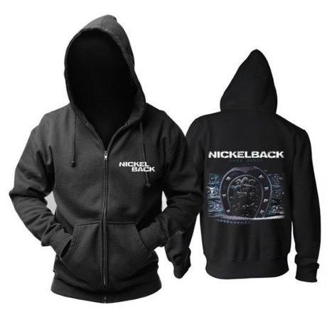高品質   NICKELBACK ニッケルバック  ジップアップ パーカー 仮装 衣装 コスチューム 小道具 海外限定 5