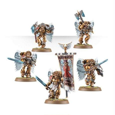 ウォーハンマー Warhammer ゲームズワークショップ Games Workshop おもちゃ 40,000 Blood Angels Sanguinary Guard Miniatures