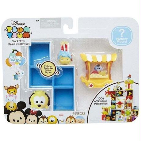 ディズニー Disney ジャックスパシフィック Jakks Pacific おもちゃ Tsum Tsum Fun at the Fair Basic Display Set