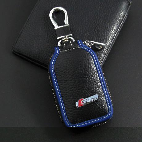 アウディ キーケース キーバッグ レザー キーホルダー Audi Q3 Q5 R8 R10 R15 A1 A3 A4 A6 A7 A8 A4L A6L TT h00314
