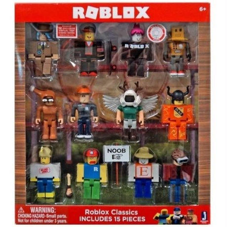 ロブロックス Roblox ジャズウェアーズ Jazwares フィギュア おもちゃ Classics Exclusive Action Figure 12-Pack