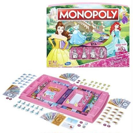 ディズニー ハズブロ ハズブロゲーム Hasbro Games Disney Princess Edition Monopoly Game