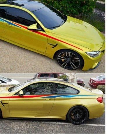 BMW ステッカー 2個入 サイド E30 E34 E36 E39 E46 E53 E60 E70 E71 E85 E87 E90 E91 E92 E83 F83 F20 F21 F30 h00200