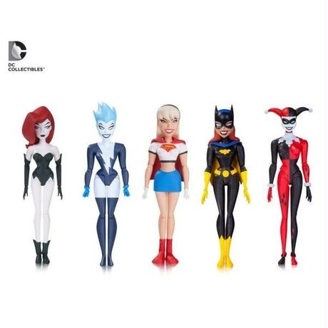 ディーシー ディーシー DC COLLECTIBLES The New Batman Adventures Girls Night Out Five Pack