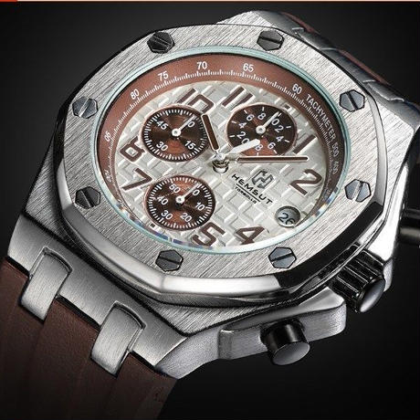 Torbollo 海外高級ブランド メンズクォーツ時計 ゴールド ラバーストラップ 海外人気!