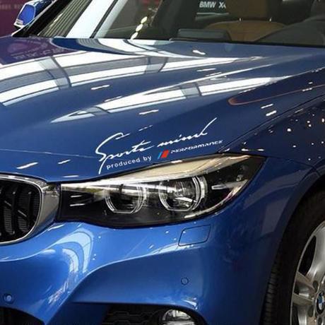 BMW ステッカー デカール パフォーマンス ランプ ヘッドライト e46 e39 e90 e60 f30 f10 x5 e36 e53 e34 h00092