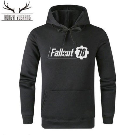 Fallout 76 フォールアウト  ゲーム ロゴ パーカー  FO 76 グッズ  10