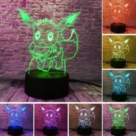 イーブイ アクリルパネル LED発光 プレゼント クリスマス ギフトにも  pokemon ポケモンgo